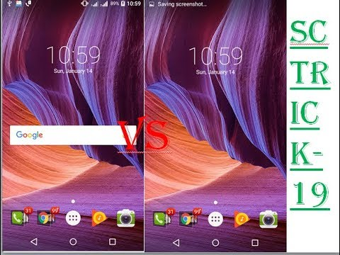 How To remove google search bar in home screen,without any launcher,(hindi,bengali)