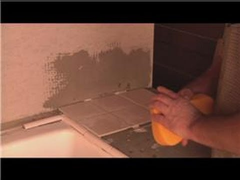 Grouting Help : How to Clean Excess Grout From Tile