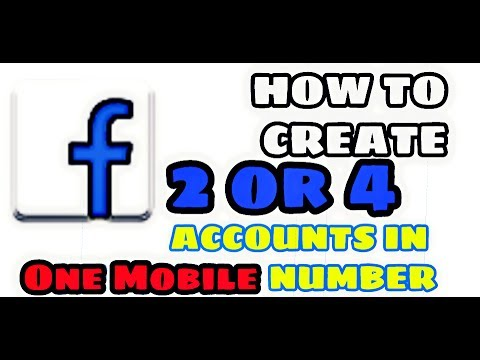 (EXPIRED)How To Create two or more facebook account using one mobile number