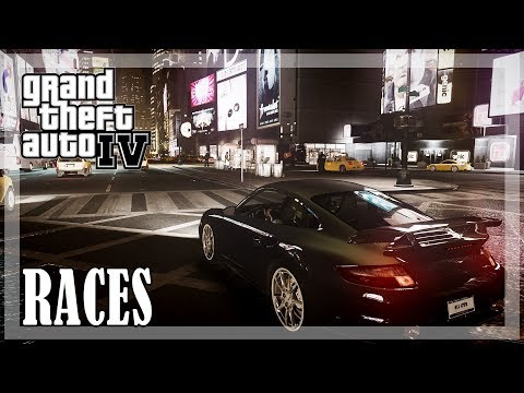 GTA 4 - All Races from Brucie 🚗