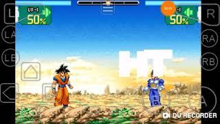 GBA emulator:Dragon ball z super sonic warriors Goku .VS. Vegeta