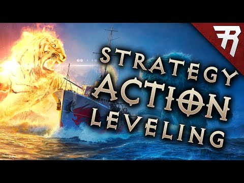 A Different Grind? Level up a Battleship - World of Warships (Gameplay)
