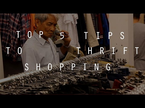 Top 5 Tips You MUST Know About Thrift Shopping | How To Thrift Shop Better | Zac Macfarlane