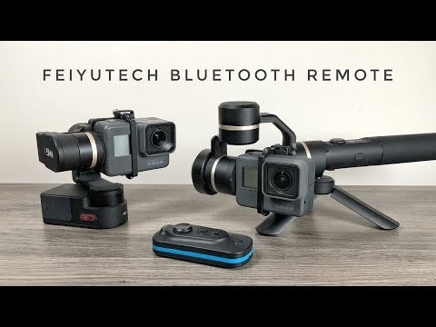 FeiyuTech BlueTooth Remote Demonstration