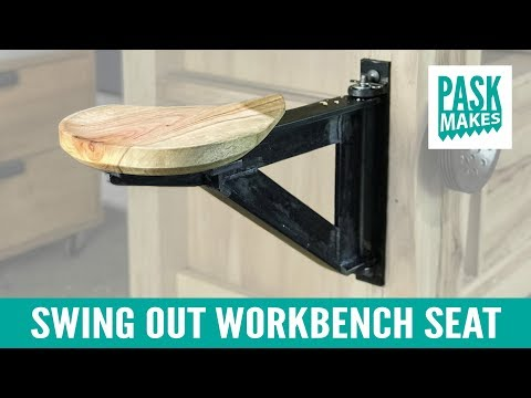 Swing Out Workbench Seat