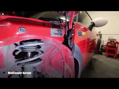 Mini Cooper - How To Remove Front Fender Liner