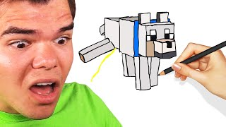 GUESS The MINECRAFT DRAWING Or LOSE! (Skribble.io)