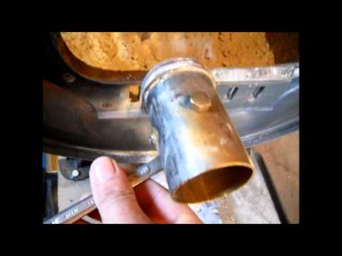 WOODSTOVE AIR INTAKE  ( Barrel Stove Kit MOD )