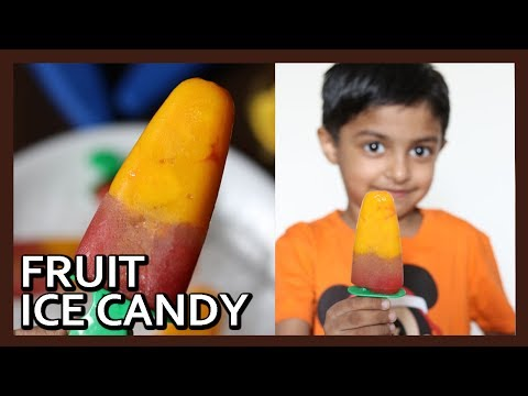 Healthy Fruit Ice Candy Recipe | Ice Cream Recipe | Ice Popsicle Candy Making by Healty Kadai