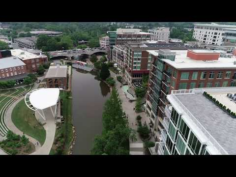 Zach and Chancey's Beautiful Wyche Pavilion Wedding // Greenville, SC Snippet 1