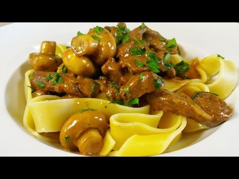 How To Make Beef Stroganoff. TheScottReaProject