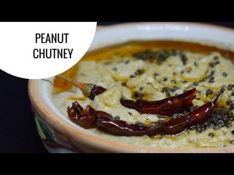 Peanut Chutney - No Onion No Garlic Recipe   How to make peanut chutney