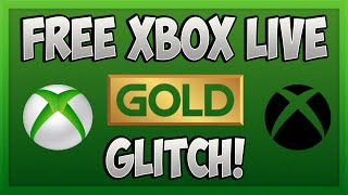 Easy Way To Get Free Xbox Live Gold Working November 2016 Free Xbox L