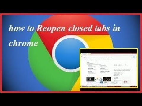 How to Reopen Closed Tabs in Chrome//Google Chrome// - Chrome Tricks