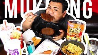 I TRIED FOLLOWING A TRISHA PAYTAS MUKBANG!!! 🍔 🤮 TRISHA PAYTAS EATING SHOW!!!