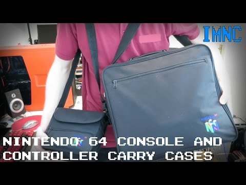 N64 Controller & Console Carry Cases | IMNC