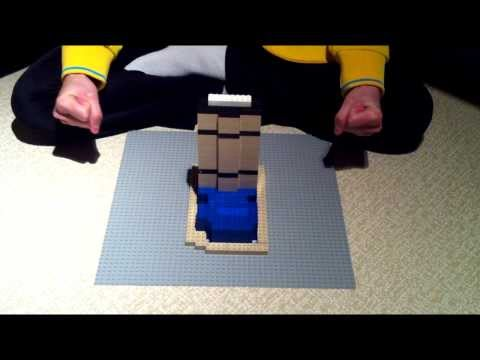 Building lego MetLife building