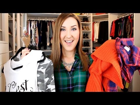 Fashion Haul~ Sweaters, Plaid, Shoes, & MORE