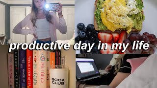 PRODUCTIVE DAY IN THE LIFE OF A YOUTUBER IN HIGH SCHOOL