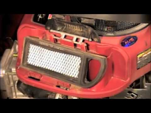 Replace Your Air Filter on Your Lawn Tractor!