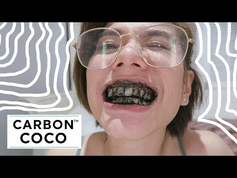 Carbon Coco Teeth Whitening First Impressions!