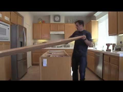 Ikea Butcher Block Installation - Kitchen Remodel_1