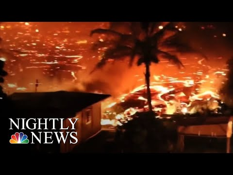 Active Fissure Causing Destruction In Hawaii Neighborhood | NBC Nightly News
