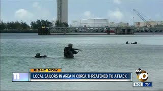 North Korea threatens to attack area occupied with local sailors
