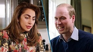 LADY GAGA & PRINCE WILLIAM FACETIME TOGETHER From Her MANSION In LA To KENSINGTON PALACE UK {VIDEO}