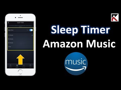 How To Setup Sleep Timer Amazon Music