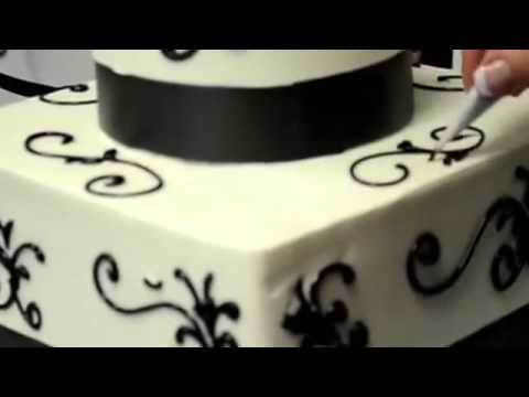 How to make cake Wedding cake made in minutes