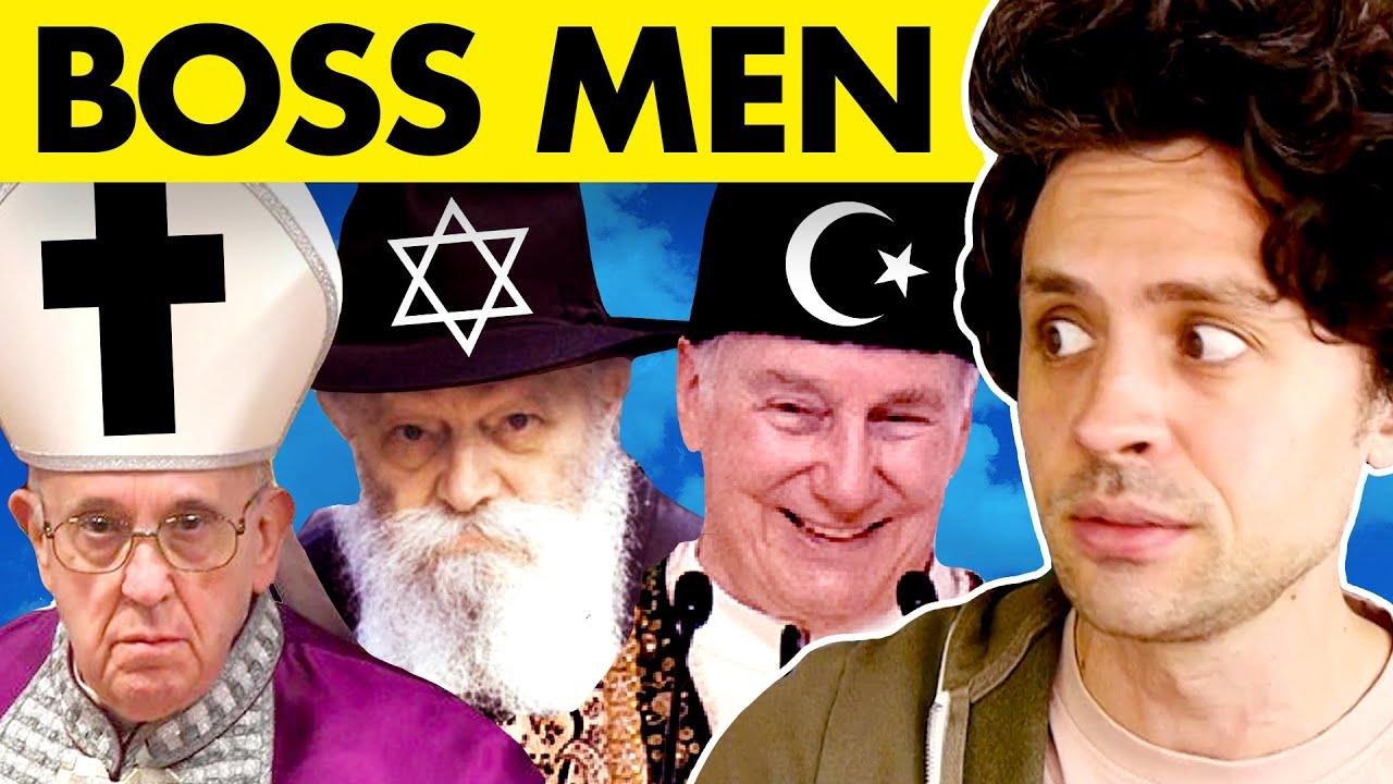 "Describing the leaders of the ""BIG 3"" religions."