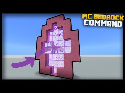 Minecraft Bedrock Edition: How to Make CUSTOM PORTALS!