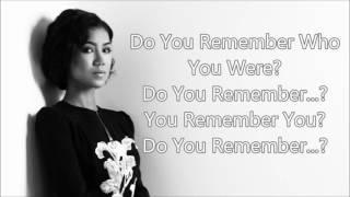 "Jhene Aiko - ""Remember"" lyrics"