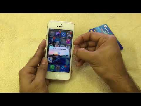 iPhone Country lock Unlock Tutorial