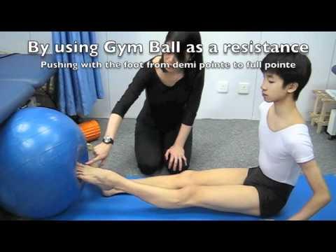 Ballet Series: Pointe through Demi Pointe Strengthening exericse