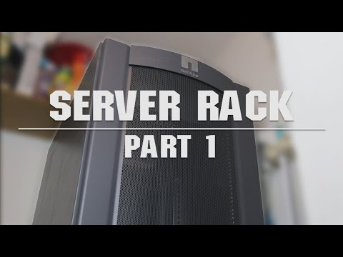 Home Server Rack - Build Log Part 1 [Deutsch/German]
