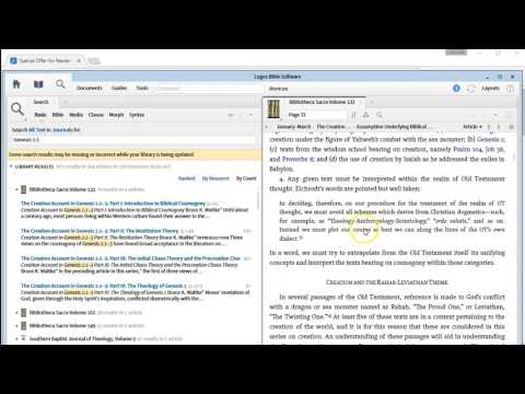 Easy Footnotes with Logos Bible Software