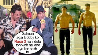 Dharmendra Gets EMOTIONAL Thanking Salman Khan For Saving Bobby Deol