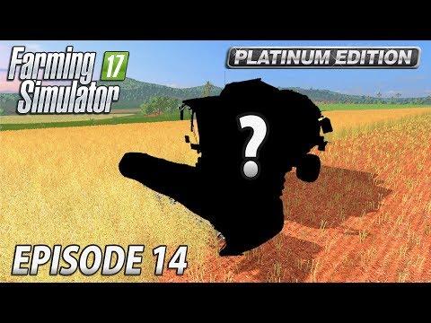 MYSTERY NEW COMBINE | Farming Simulator 17 Platinum Edition | Estancia Lapacho - Episode 14