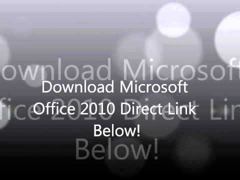 Microsoft Office 2010 Direct Download