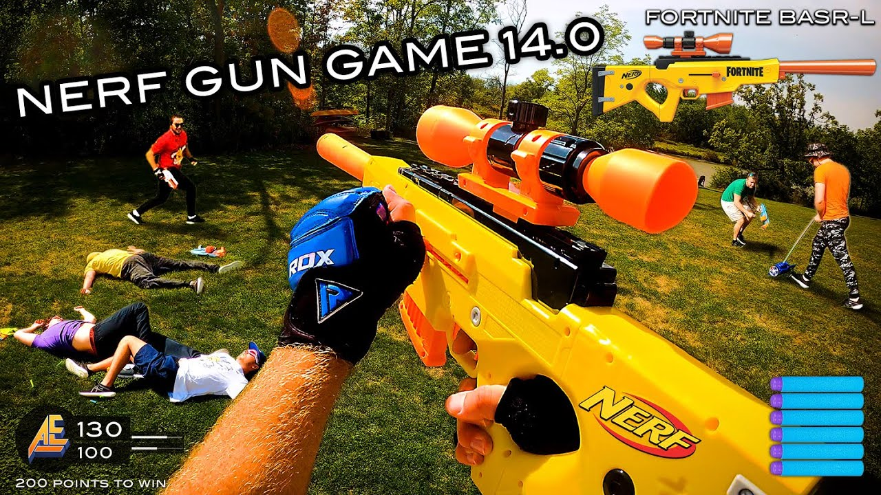 NERF GUN GAME 14.0   (Nerf First Person Shooter!)