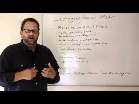 Social Media For Small Businesses-The Beginners Guide To Small Business Internet Marketing-Episode 6