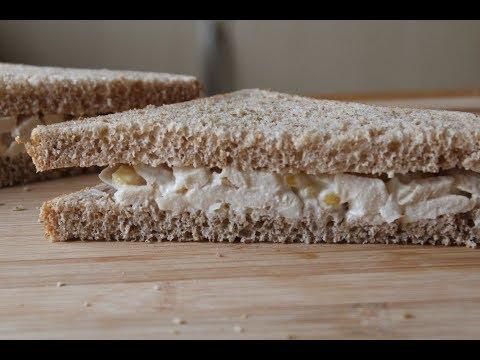 Roast Chicken & Sweetcorn Sandwich Recipe