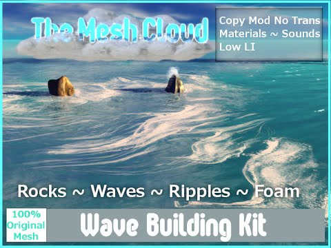 Second Life Wave Building Kit
