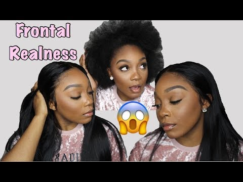 How To Apply Lace Front Wig w/ LOW HAIRLINE! | Bold Hold Lace Creme!