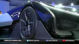 Faraday Future unveils electric car of the future