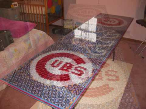 Chicago Cubs Beer Pong Table