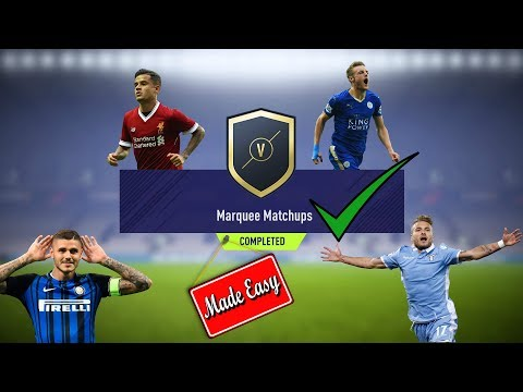 FIFA 18 Marquee Matchups Made Easy!     Dec. 26