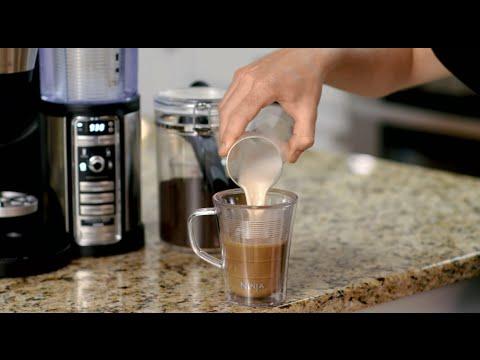 Making a Caramel Macchiato with the Ninja Coffee Bar™